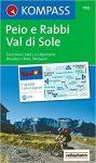 095. Val di Sole-Pejo e Rabbi turista térkép Kompass 1:25 000