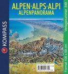 349. Alpenpanorama, plano in der Rolle panoráma térkép
