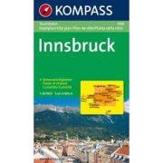 448. Innsbruck Touristplan, 1:10 000, 30er Box várostérkép
