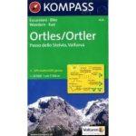 636. Ortles terkep turista térkép Kompass 1:25 000