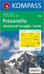 639. Presanella-Mad. di Camp. turista térkép Kompass 1:25 000