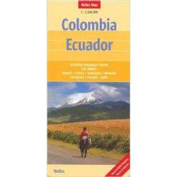 Colombia térkép Nelles 1:2 500 000