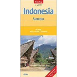 Indonézia térkép Nelles 1:1 500 000  Szumátra térkép