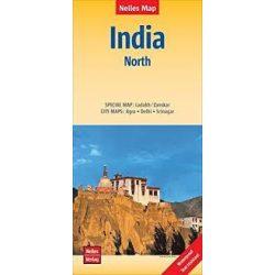 Észak India térkép Nelles 2016 1:1 500 000