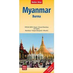 Burma Myanmar térkép Nelles 1:1 500 000  2013
