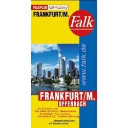 Frankfurt térkép Falk
