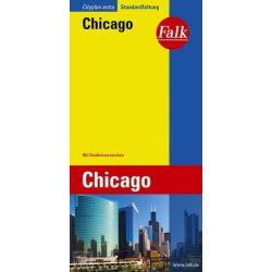 Chicago térkép Falk