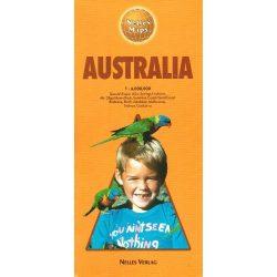 Ausztrália térkép Nelles 1:4 000 000