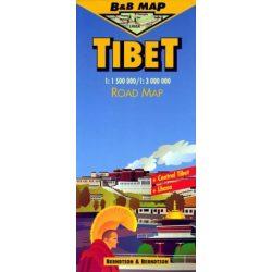 Tibet térkép B & B 1:1 500 000