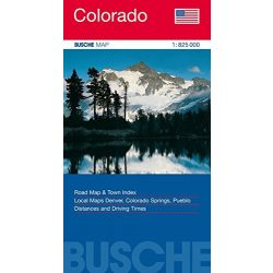 Colorado térkép Busche Map 1:825 000