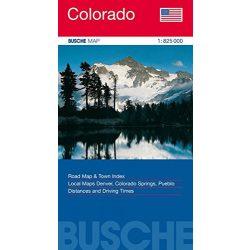 Colorado térkép Busche Map 1:825 000