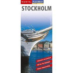 Stockholm térkép Kunth 1:12 500