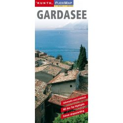 Gardasee, Garda tó térkép Kunth 1:90 000, 1:300 000