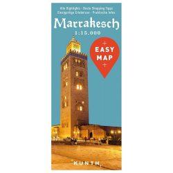 Marrakesh térkép  Kunth 1:15 000 Marrakesh térkép