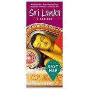 Sri Lanka térkép Kunth 1:550 000