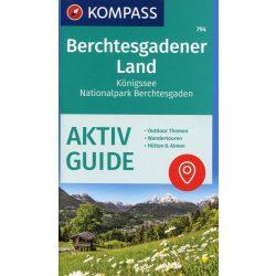794. Berchtesgadener Land turista térkép Kompass 1:25 000