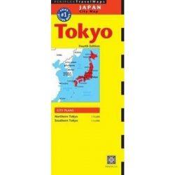 Tokyo térkép Periplus Travel Map 1:15 000