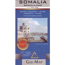 Szomália térkép Gizi Map  1:1 750 000