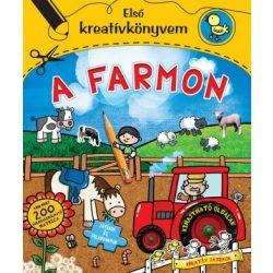 A farmon könyv Első kreatívkönyvem Ventus Libro Kiadó