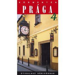 Sörmentén Prága útikönyv Hibernia kiadó  2016
