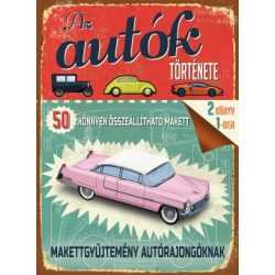 Az autók története könyv Ventus Libro Kiadó, Autó makettek, Makettgyűjtemény autórajongóknak