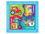 Puzzle-könyvek - közlekedési eszközök 2016