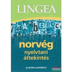 Norvég nyelvtani áttekintés, norvég - magyar szótár Lingea