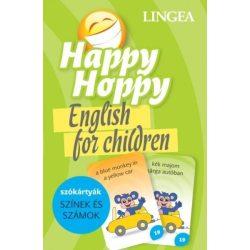 Happy Hoppy Szókártyák - színek és számok