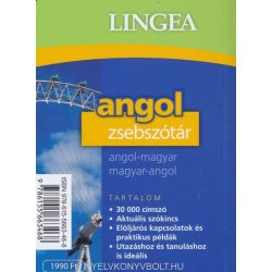 Angol zsebszótár, 2. kiadás Angol - magyar szótár Lingea