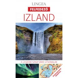 Izland útikönyv Lingea Felfedező 2019