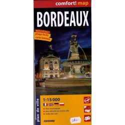 Bordeaux térkép Comfort térkép ExpressMap 1:15 000  2013