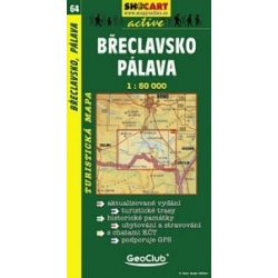 SC 64. Breclavsko, Palava turista térkép Shocart 1:50 000