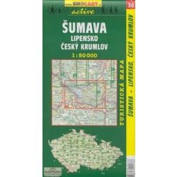 SC 35. Sumava, Trojmezi turista térkép Shocart 1:50 000