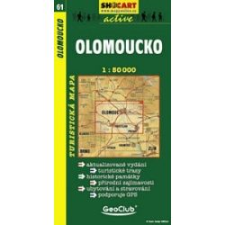 SC 61. Olomoucko turista térkép Shocart 1:50 000