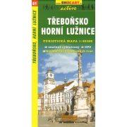 SC 41. Trebonsko, Horni Luznice turista térkép Shocart 1:50 000