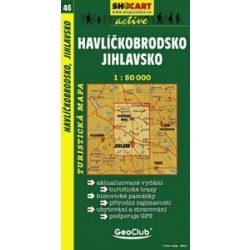 SC 46. Havlickobrodsko turista térkép Shocart 1:50 000