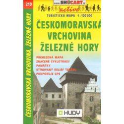 SC 210. Ceskomoravská Vrchovina turista térkép Shocart 1:100 000