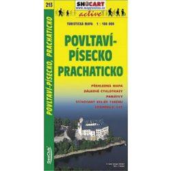 SC 213. Povltavípísecko Prachaticko turista térkép Shocart 1:100 000