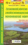 SC 215. Jindrichohradecko Novohradské Hory turista térkép Shocart 1:100 000