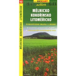SC 12. Melnicko, Kokorinsko turista térkép Shocart 1:50 000