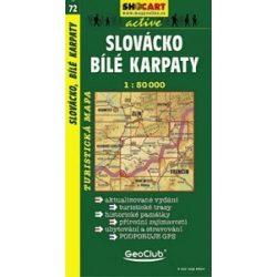 SC 72. Slovacko, Bile Karpaty turista térkép Shocart 1:50 000