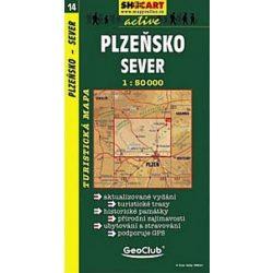 SC 14. Plzensko, sever turista térkép Shocart 1:50 000