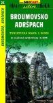 SC 25. Broumovsko, Adrspach turista térkép Shocart 1:50 000