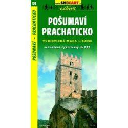 SC 39. Posumavi, Prachaticko turista térkép Shocart 1:50 000