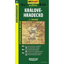 SC 27. Kralovehradecko turista térkép Shocart 1:50 000