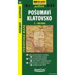 SC 32. Posumavi, Klatovsko. turista térkép Shocart 1:50 000