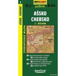 SC 5. Assko, Chebsko turista térkép Shocart 1:50 000