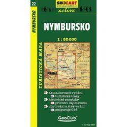 SC 22. Nymbursko turista térkép Shocart 1:50 000
