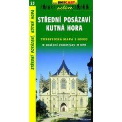 SC 23. Stredni Posazavi, Kutna Hora turista térkép Shocart 1:50 000