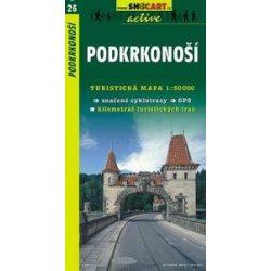 SC 26. Podkrkonosi turista térkép Shocart 1:50 000